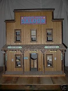 Doll Houses  Sale on Tombstone Old West Saloon 1 12 Scale Doll House Plans For Sale