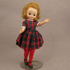 1950s Vintage American Character Betsy McCall Doll Original Dress