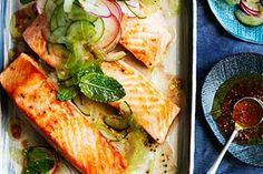 ... Cucumber Salad   Fish & Seafood   Pinterest   Trout, Cucumber Salad