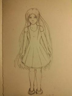 #girl #pencil #anime