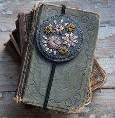 Felt Embroidered Bookmark