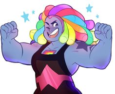 I basically fell in love with Bismuth for the first part of the episode. and then MAN, it turned dark FAST. Bismuth Steven Universe, Steven Universe Gem, Universe Art, Steven Universe Personajes, Desenhos Cartoon Network, Chibi, Bubbline, Lapidot, Tumblr