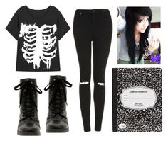 """""""Untitled #318"""" by ashlyn96 ❤ liked on Polyvore featuring Topshop"""