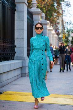 Stylish New York Fashion Week Spring 2018 Street Style Street Style Outfits, New Street Style, Street Chic, Street Snap, New York Fashion, Trendy Fashion, Fashion Looks, Fashion Trends, Style Fashion