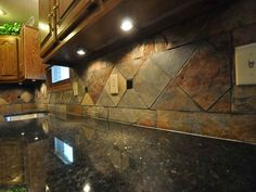 How to Install Tile Backsplash with Granite Countertop