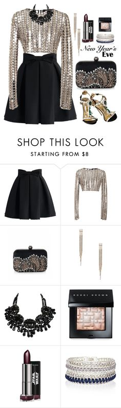 """30.12.15-2"" by malenafashion27 on Polyvore featuring Chicwish, Wes Gordon, Bebe, Bobbi Brown Cosmetics and River Island"