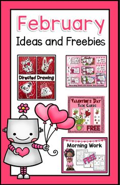 Valentine's Day Ideas and FREEBIES