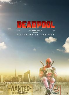 #Deadpool #Fan #Art. (Deadpool Movie poster) By: Asifneithelil. (THE * 5 * STÅR * ÅWARD * OF: * AW YEAH, IT'S MAJOR ÅWESOMENESS!!!™) ÅÅÅ+