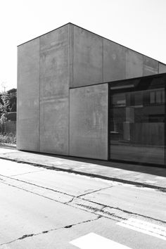 #architecture #concrete and glass #minimalism - dental practice | merelbeke - Projects - CAAN Architecten / Gent