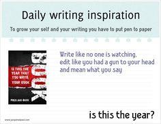 Daily writing inspiration