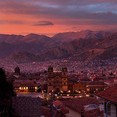 Cusco, Peru Sunrise