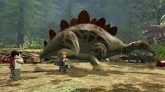LEGO Jurassic Park auf der PS4 http://www.pokipsie.ch/spiele/digital/playstation-4/lego-jurassic-world/