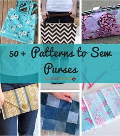 Making DIY purses is truly rewarding, since you can use them every day! Here, we have collected some of the best free purse patterns for you to sew.