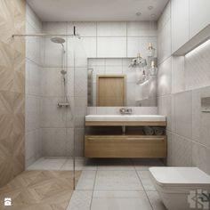 Kawalerka w stylu vintage - Średnia łazienka, styl vintage - zdjęcie od Przestrzenie