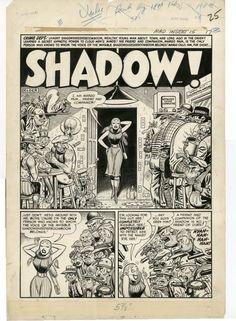 """""""SHADOW"""" drawn by Will Elder"""