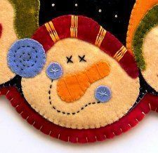 Free Tutorial - The Easy Way to Applique by Melanie