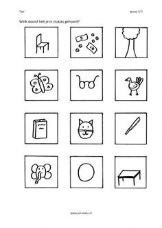 Welk woord hoor je in het midden? Spelling, Reading, Logos, Land, Website, Nova, Pdf, Image, Writing