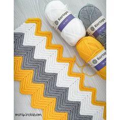 Best 12 Chevron crochet free tutorial and pattern – Artofit – SkillOfKing. Crochet Bobble Blanket, Chevron Crochet Blanket Pattern, Crochet Snowflake Pattern, Gilet Crochet, Afghan Crochet Patterns, Knitting Patterns, Crochet Patron, Diy Crafts Crochet, Knitted Blankets