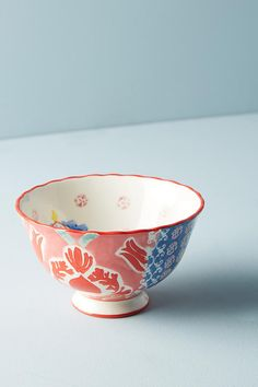 Red motif: Adele Bowl | Anthropologie