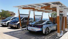 iシリーズにマッチする太陽光発電カーポートを提案|BMW |