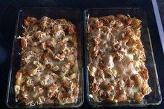 Putenschnitzel in Käse - Lauch - Sauce mit Rösti überbacken