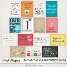 Sometimes It's Chemistry: Cards by Heather Roselli