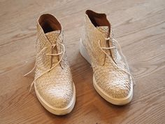 Image result for fish leather shoes