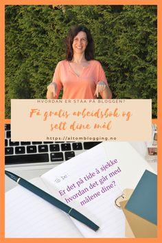 Har du satt deg mål i januar er det på tide å sjekke ståa. Har du ikke gjort det ennå kan du sette i gang i dag. Bruk min gratis arbeidsbok og legg en plan for resten av året #norskblogger #gratis #arbeidsbok #settemål #mål