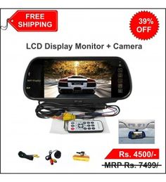 7 Inch CAR LCD Display Monitor with Camera