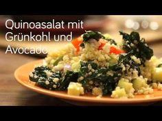 Video für Quinoasalat mit Grünkohl und Avocado