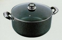 8.5QT Concord Aluminum Non-stick Sauce Stock Pot Casserole Cookware by Concord. $35.00. Housewares. Housewares->Cookware. 8.5QT. Some assembly may be required. Please see product details.. 8.5QT Concord Aluminum Non-stick Sauce Stock Pot Casserole Cookware This brand new Concord aluminum stockpot with non-stick interior and heat resistant tempered glass lid can handle any healthy, delicious meals, because of its non-stick surface, which reduces hotspots so your...
