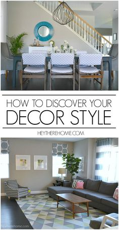 So going to use these tips to hone in on my decorating style so I can stop making random purchases and create a more cohesive look in my home! via@heytherehome #decorstyle #homedecor