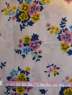 #floral #fabric