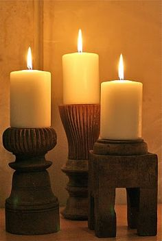 A house full of candles..I light some candles every night, nothing is more relaxing!
