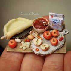 2018.02 Miniature Apple Pie ♡ ♡ By Le Mini Di Claudia