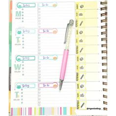 """This week layout on my @inkwellpress  I am using @studio_l2e brush dates stamps to mark """"to do"""" and """"today"""" on @happiescrappie stickers.  #iwpsetup #inkwellpressplanner #inkwellpress #plannerstamps #plannerstamping #stamps #washitape #happiescrappie #happiescrappieplannerkit #stickers #plannerstickers #happiescrappiestickers #HappieScrappieCT_Lucy #planners #plannerkit #planneraddicts #planningwithbelinda #plannersupplies #pengems #studiol2e #sweetstampshop #marrycrafts #marrylstamps…"""