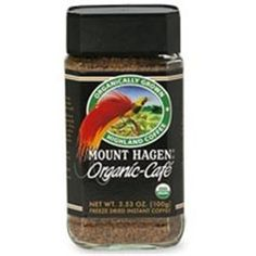 Mount Hagen Organic Freeze Dried Instant Coffee 353Ounce Jars Pack of 6  Value Bulk Multipack -- Be sure to check out this awesome product. (This is an affiliate link)