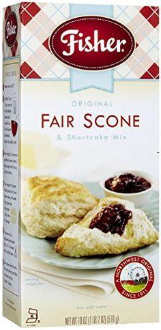 Fisher B81008 Fisher Fairscone &shortcake Mixoriginal -12x18oz