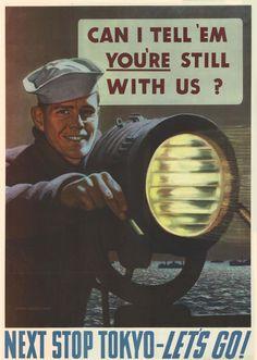 World War 2 Propaganda Posters – part 5 Ww2 Propaganda Posters, Classroom Posters, Poster Pictures, Vintage Posters, Retro Posters, World War Ii, American History, Wwii, Navy