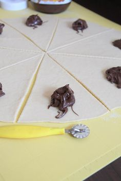 rêve de vivre: Nutellové rožteky Nutella, Playing Cards, Playing Card
