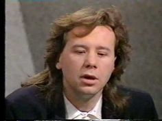 """Jim Kerr of Simple Minds on the TV program """"Open to Questions"""" in Part 1 of An interview style program. Jim Kerr, Scottish Bands, Interview Style, Simple Minds, Duffy, New Wave, Mindfulness, Album"""