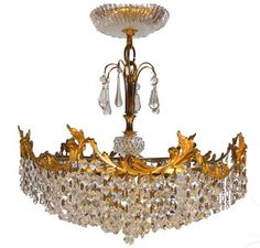 German Crystal Chandelier