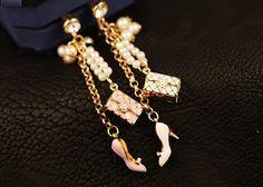 Noble bag high heels dust plug,iphone dust plug,earphone plugs,phone charm cell phone charm,iPhone plug