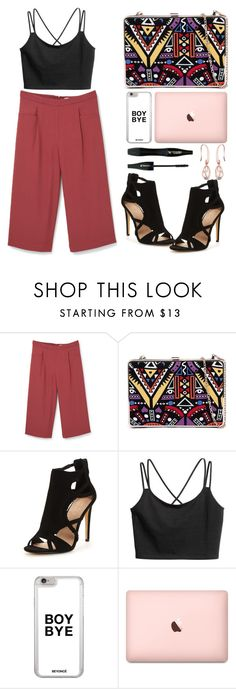 """""""Untitled #1744"""" by anarita11 ❤ liked on Polyvore featuring MANGO and Lancôme"""