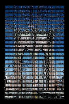 "Thomas Kellner: 40#29 New York, Brooklyn Bridge, 2003, C-Print, 53,0x83,8cm/20,7""x32,7"", edition 20+3"
