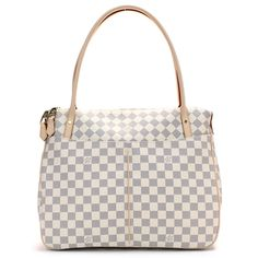 Louis Vuitton Damier Azur Canvas Figheri GM Handbag