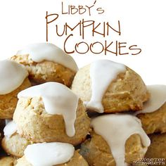 Libby's Pumpkin Cookies recipe - perfect treat for Fall!