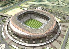 Soccer City, Johannesburg, R.S.A.
