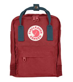 ab486fbd86b7 Ox Red and Royal Blue Kanken Mini Backpack Bags
