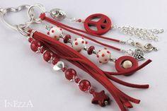 Anhänger Taschenbaumler rot OktobeRöte von INEZZA  -  Geschenkestübchen auf DaWanda.com